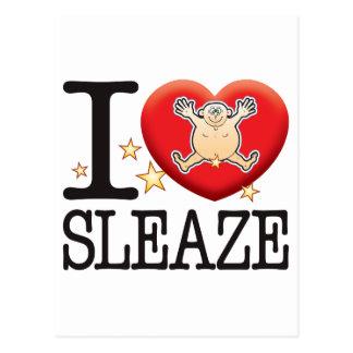 Sleaze Love Man Postcard