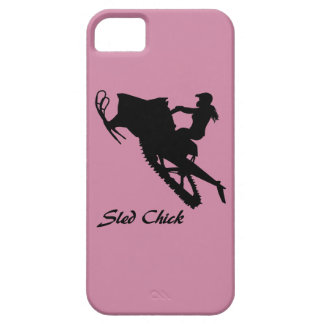 Sled Chick iPhone SE/5/5s Case