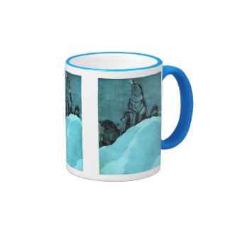 Sled Dog Coffee Mugs