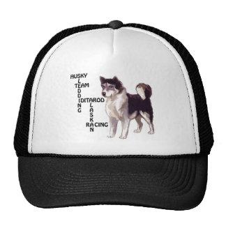 Sled dog Crossword Puzzle Trucker Hat
