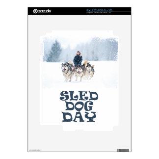 Sled Dog Day - Appreciation Day iPad 2 Skins