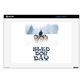 Sled Dog Day - Appreciation Day Laptop Skins