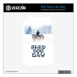 Sled Dog Day - Appreciation Day Skins For iPod Touch 4G