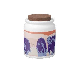 Sled Dog Fury Candy Jar