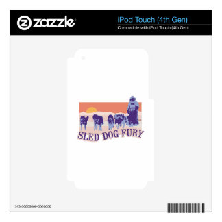 Sled Dog Fury Skins For iPod Touch 4G