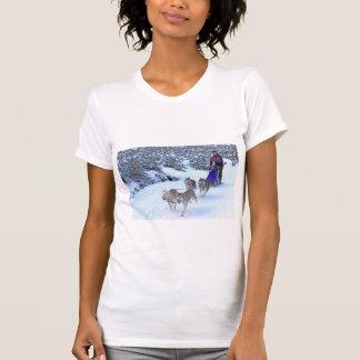 Sled Dog Racing Tshirts