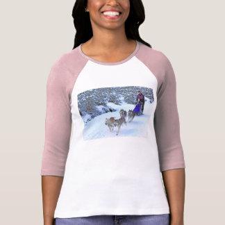 Sled Dog Racing Tshirt