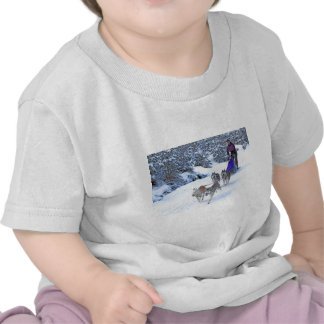 Sled Dog Racing Shirts
