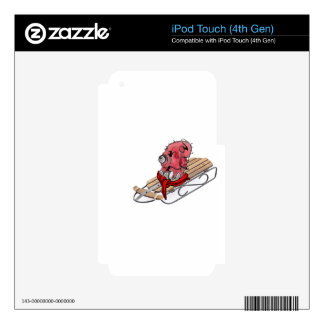 Sled.gif Decals For iPod Touch 4G