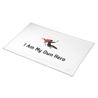 Sled Hockey Hero Cloth Placemat
