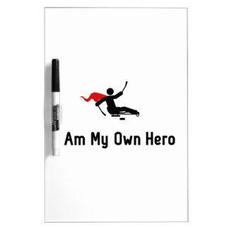 Sled Hockey Hero Dry-Erase Board
