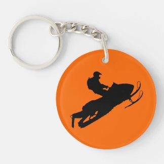 Sled Key Chain Acrylic Keychains
