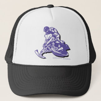 SLEDDER-Purp Trucker Hat