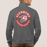"""Sledders.com Asphalt """"Colors"""" Zip up Jacket"""