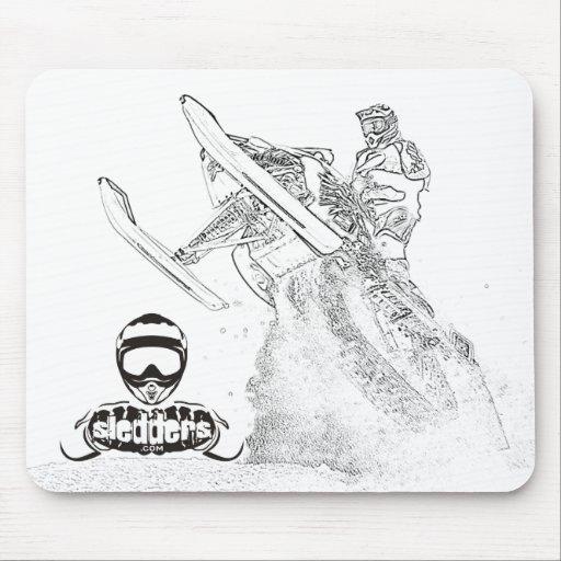 Sledders.com Mousepad Alfombrilla De Ratón