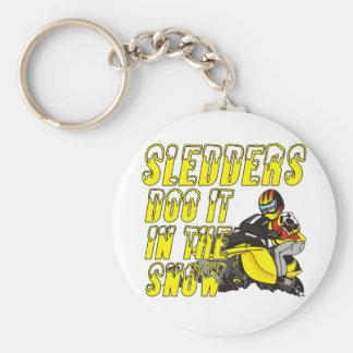 Sledders Doo Keychain