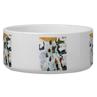 Sledding and Digging Out Bowl