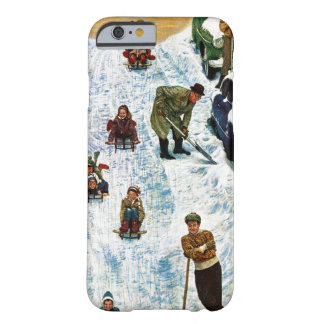 Sledding and Digging Out Barely There iPhone 6 Case