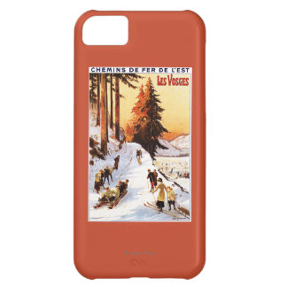 Sledding and Skiing at Vosges Poster iPhone 5C Cover