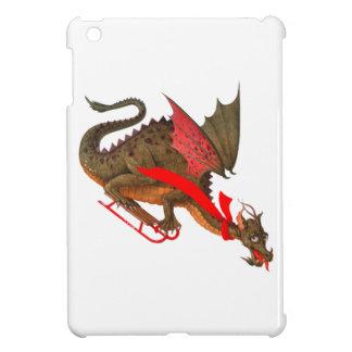 Sledding Dragon iPad Mini Cover
