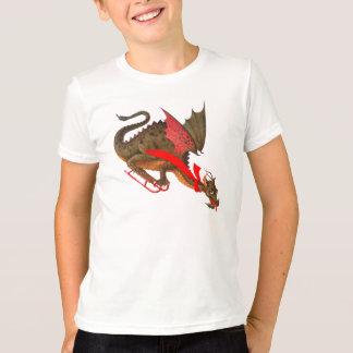 Sledding Dragon T-Shirt