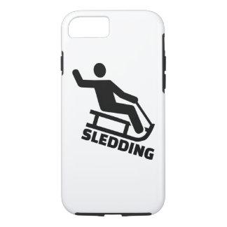 Sledding iPhone 7 Case