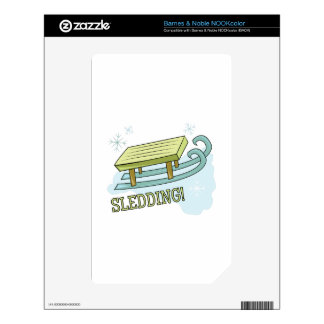 Sledding Skins For The NOOK Color