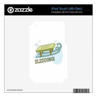 Sledding Skins For iPod Touch 4G