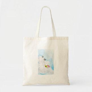 Sledding Sushi Canvas Bags