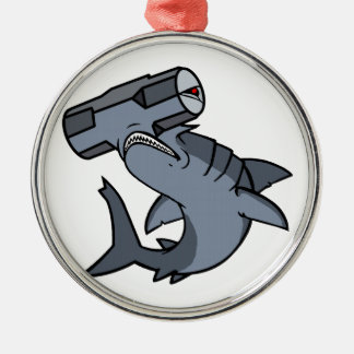Sledgehammer Head Shark Ornaments