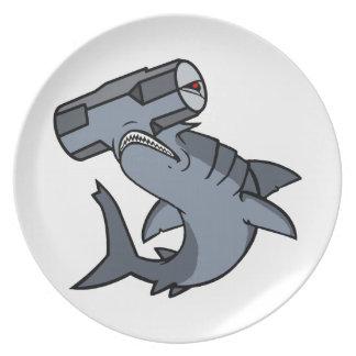 Sledgehammer Head Shark Plate