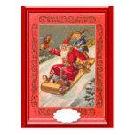 Sledging Santa Postcard