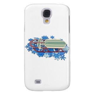SledOnSnowFlakes061111 Samsung Galaxy S4 Cover