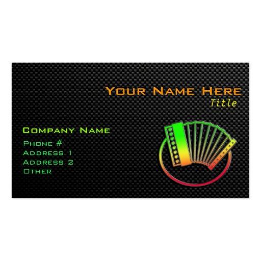 Accordion Business Cards Business Card Templates Bizcardstudio