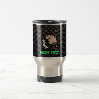 Sleek Accountant 15 Oz Stainless Steel Travel Mug