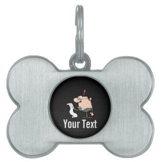 Sleek Accountant Pet Tag