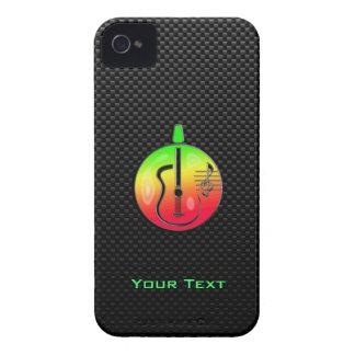 Sleek Acoustic Guitar iPhone 4 Case