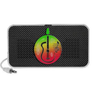 Sleek Acoustic Guitar Travelling Speaker