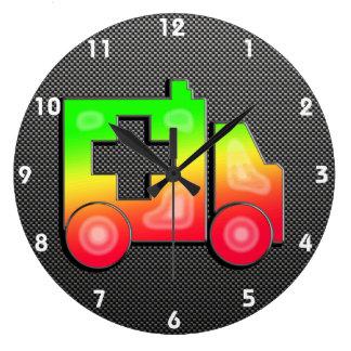 Sleek Ambulance Large Clock