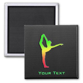 Sleek Ballet Fridge Magnet