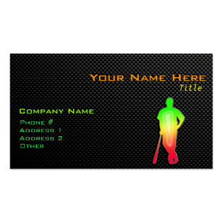 Sleek Baseball Double-Sided Standard Business Cards (Pack Of 100)