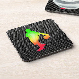 Sleek Basketball Beverage Coaster