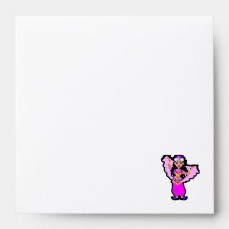 Sleek Belly Dancer Envelopes