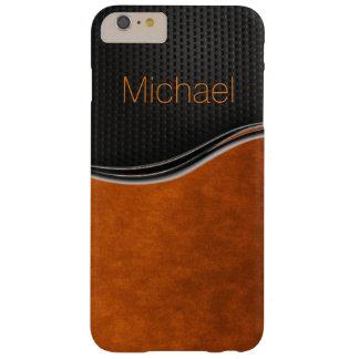 Sleek Black Orange iPhone 6 Case