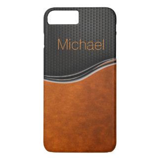 Sleek Black Orange iPhone 7 Case