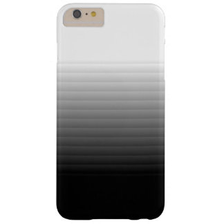 Sleek Black & White Faded Panes iPhone 6 Plus case