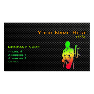 Sleek Boxing Double-Sided Standard Business Cards (Pack Of 100)
