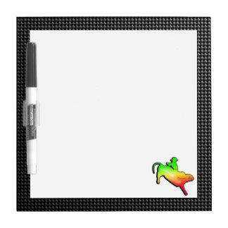 Sleek Bull Rider Dry-Erase Board