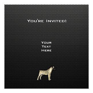 Sleek Bullmastiff Custom Announcements