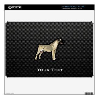 Sleek Bullmastiff Decals For The MacBook